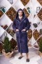 Халат мужской бамбуковый Victoria 1704 XL,2XL