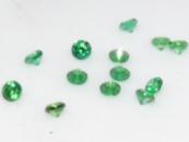 Фианит (цирконий) круг 1,75 мм, зеленый
