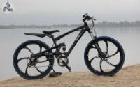 Элитный Велосипед BMW X3 Black на литых дисках