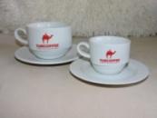Чашки Фрегат для кофе 110 мл с блюдцем