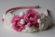 Обруч для волос «Романтика цвета» от автора handmade Анны Юриной