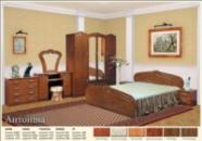 Кровать Антонина 1,40 (лаковая)