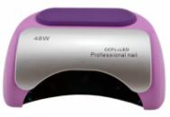 Гибридная УФ CCFL+LED лампа для ногтей Beauty Nail 48W сиреневый