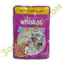 Whiskas 85 гр для котят рагу с курицей
