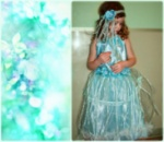 Нарядное весеннее платье «Лесная Нимфа». Творчество Алла Яковенко
