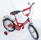 Двухколесный велосипед EXPLORER BT-CB-0032 16« красный