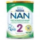 Молочная смесь «NAN кисломолочный 2» (ЗГМ), 400 гр.