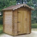 Деревянный туалет. Дачный туалет из дерева Кривой Рог цена