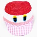 Детская летняя кепка с ушками