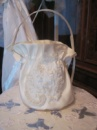 Свадебная сумочка цвета айвори