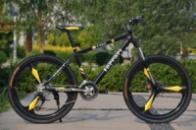 Элитный Велосипед FERRARI CX50 Black на литых дисках