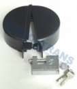 03-02-02-0019 Защитный раздвижной замок бака (горловина Ø 80 мм)