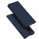 Чехол-книжка Dux Ducis с карманом для визиток для Samsung Galaxy S20 Синий