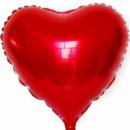 Фольгированный шар сердце красное 18'' 45 см