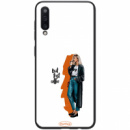 TPU+PC чехол ForFun для Samsung Galaxy A50 (A505F) / A50s / A30s But first coffee / белый