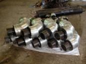 Отвод стальной для трубы 89/160 в СПИРО оболочке