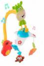 Музыкальная карусель мобиль с пультом управления и проектором Спи кроха Play Smart 7561 Разноцветный (tsi_29568)