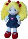 Кукла тканевая Анюта (в платье из катона)
