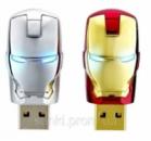 USB флешка сувенирная Железный человек 8 Gb
