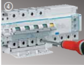 Автоматические выключатели Hager 15 кА, 80 - 125 А, хар-ка С, D
