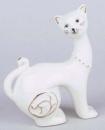 Статуэтка фарфоровая декоративная «Кошка» 9.5см