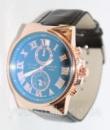 Кварцевые мужские часы Ulysse Nardin Черный ремешок
