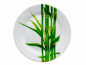 Тарелка столовая мелкая «Бамбук» круглая 19см