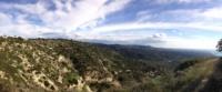 вид на Пафос с оерестных гор