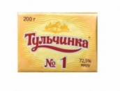 Смесь растит-сливочная Тульчинка несол 72,5%, 200г.