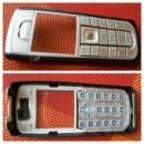 Оригинальный корпус для телефона Nokia 6230i, серебро