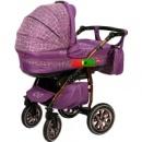 Универсальная коляска 2 в 1 Anmar Eliss New 04 Фиолетовый