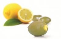 Зеленые оливки фаршированные лимоном «Green Olives S.Mamouth 101-110 stuffed with Lemon»