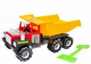 Машина грузовик Ман с лопаткой и грабельками Kinderway 08-804 (tsi_21990)