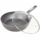 Сковорода-сотейник Kamille Granite Ø28см с крышкой