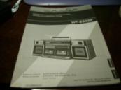 инструкция на Русском по эксплуатации магнитолы SHARP WF- 939ZP