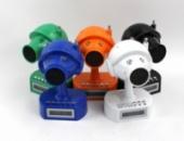Портативная колонка HY - T 18 котособака со встроенным аккумулятором, USB, CardReader, FM Радио.