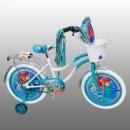 Велосипед 2-х колес 12« »Русалочка« белые колеса