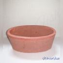 Керамический горшок, овальный