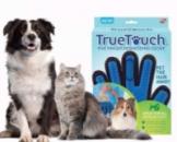 Перчатка для вычесывания шерсти True Touch Перчатка для животных тру тачь