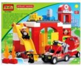 Конструктор «Пожарная станция» 9188C JIXIN