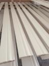 Высокий белый плинтус из Ольхи Classic 10 см