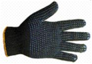Перчатки х/б с ПВХ-точкой 10 класс 3 нитки плотные