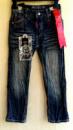 Джинсы детские байкерские реперские на мальчика, бренд Authentic США