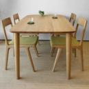 Набор мебели в столовую Эко-шик (стол +4 стула+ журнальный столик)