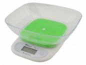 Электронные кухонные весы с чашей на 7 кг Domotec MS-125