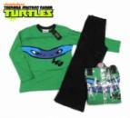 Пижама для мальчиков «Черепашки ниндзя - Леонардо» зеленая с черным, бренд «TMNT Nickelodeon»