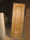 Демонтаж дверного блока деревянного