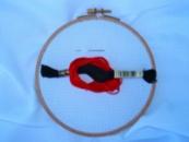 Канва ( тканина ) для вишивання хрестиком БІЛА 130 грн/м