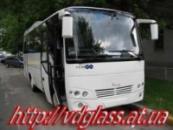 Лобовое стекло для автобусов Mitsubishi Prestij в Никополе