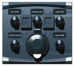 Панели переключателей и кнопки